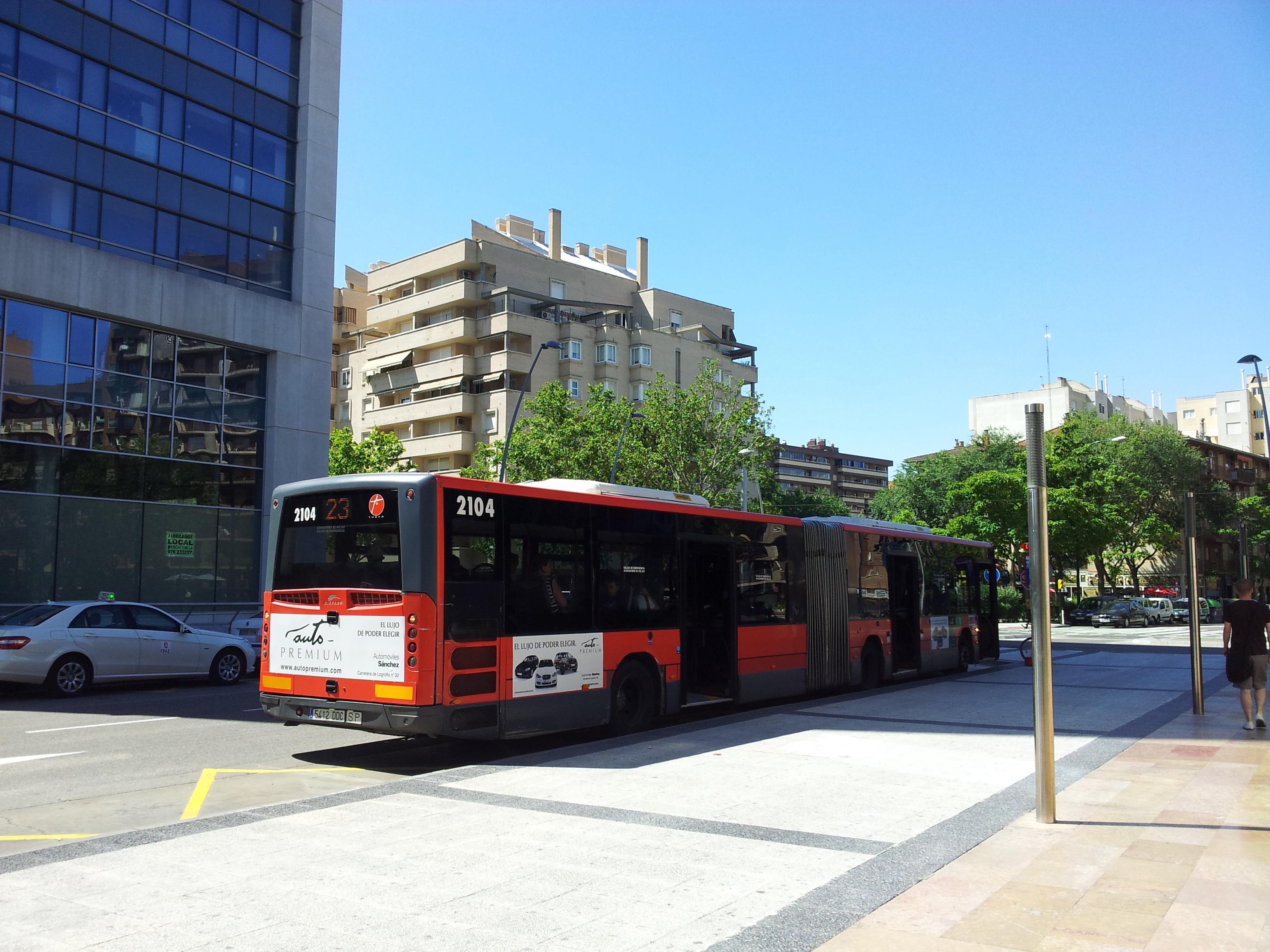 Cambios en los autobuses de Zaragoza