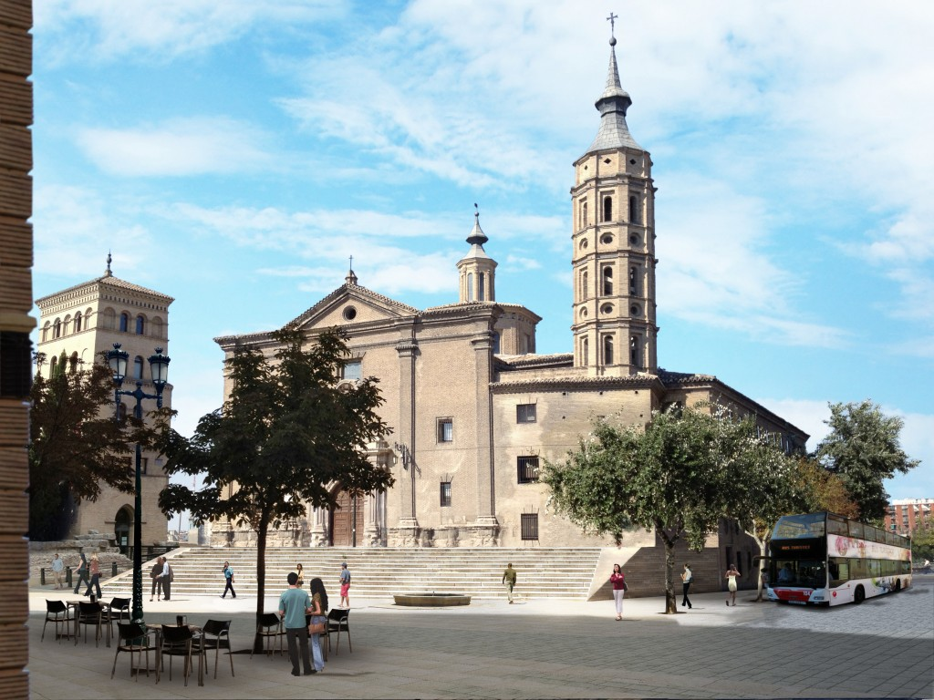 Así quedará la plaza San Juan de los Panetes de Zaragoza