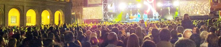 Conciertos Fiestas del Pilar Zaragoza