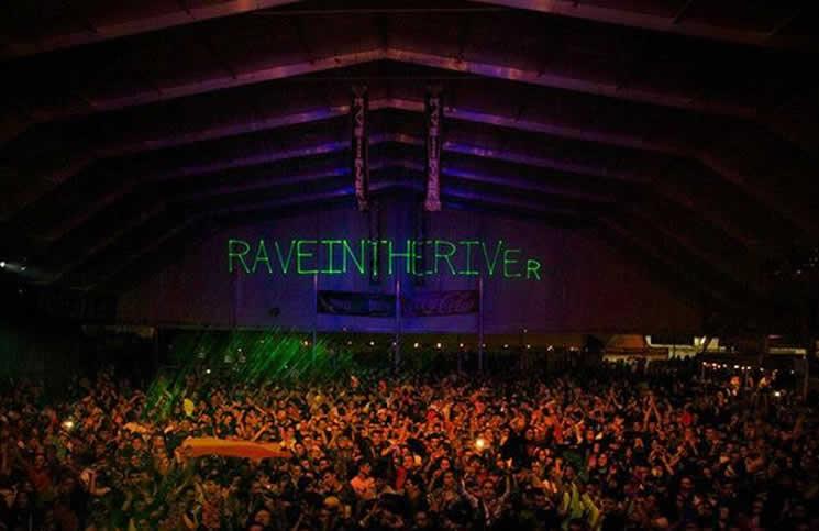 Rave in the River en las Fiestas del Pilar dentro del River Sound Festival en el Parking Norte de la Expo