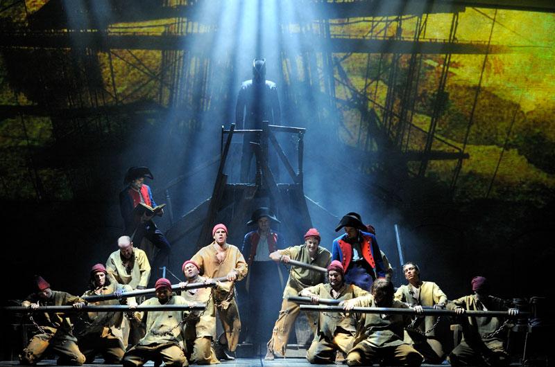 El musical Los Miserables se representa en Zaragoza durante las Fiestas del Pilar 2014