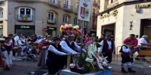 Normas en la Ofrenda de Flores de Zaragoza 2016