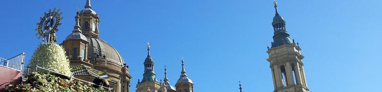 Información sobre la Ofrenda de Flores de Zaragoza en las Fiestas del Pilar