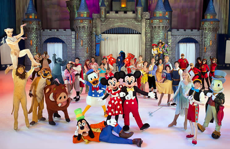 Entradas para 39 disney on ice 39 en zaragoza 2019 for Entradas para espectaculos