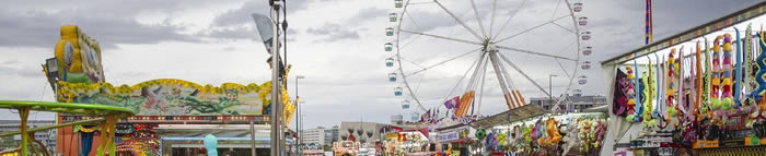Ferias del Pilar en el Reciento Ferial de Valdespartera