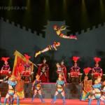 Mulán Circo Chino actúa en las Fiestas del Pilar 2014
