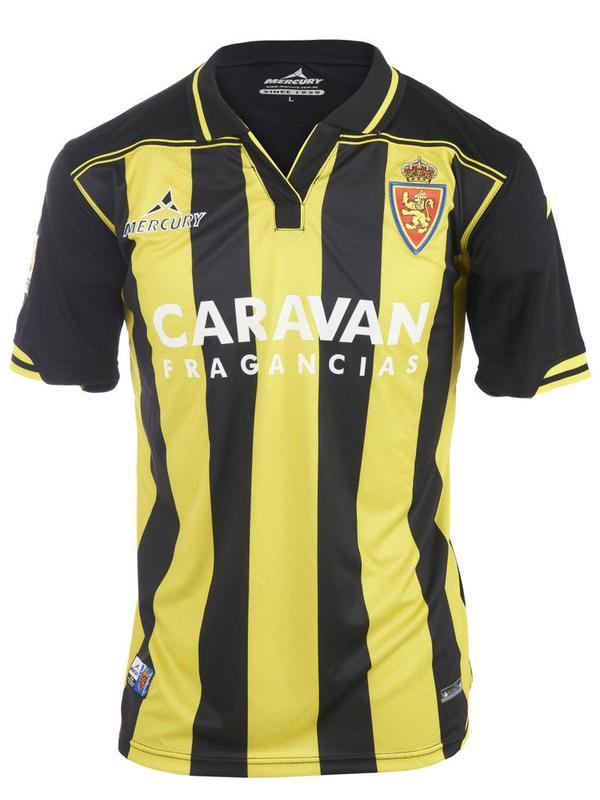 Camiseta de la segunda equipación del Real Zaragoza 2015-2016 ae7e0c696441b