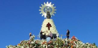 Reserva para subir al manto de la Virgen del Pilar 2014