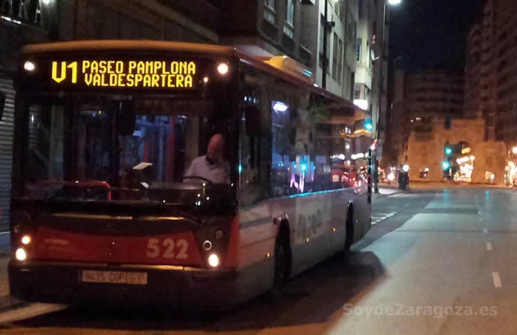 Línea de autobús especial a Valdespartera para las Fiestas del Pilar