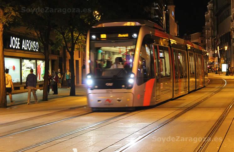 Transporte en Zaragoza durante las Fiestas del Pilar