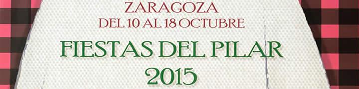 Programa de las Fiestas del Pilar 2015 de Zaragoza