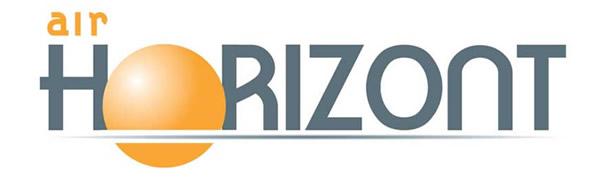 Logotipo de Air Horizont, la nueva aerolínea que volará desde el aeropuerto de Zaragoza