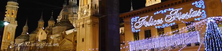 Cada Navidad se celebra el cotillón gratuito de Nochevieja en la Plaza del Pilar de Zaragoza