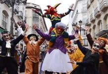 Pasacalles del Carnaval Infantil de Zaragoza