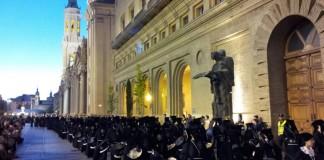 Procesiones de Semana Santa en Zaragoza