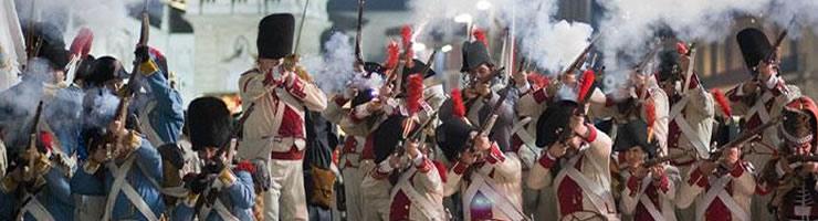 La recreación de Los Sitios de Zaragoza tendrá lugar del 6 al 8 de marzo