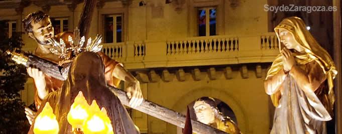 Procesiones Semana Santa en Zaragoza
