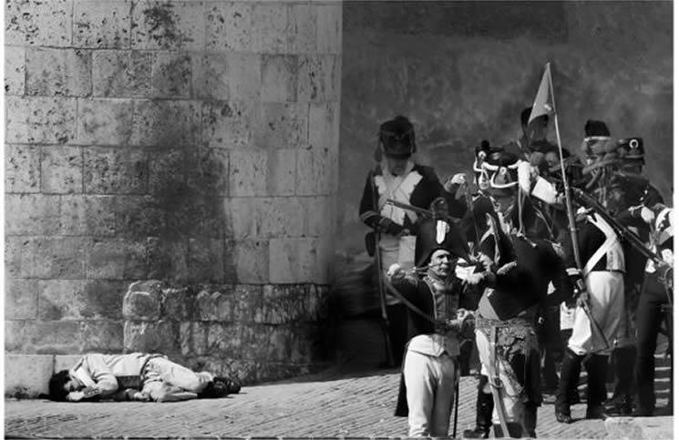 Representación de Los Sitios de Zaragoza