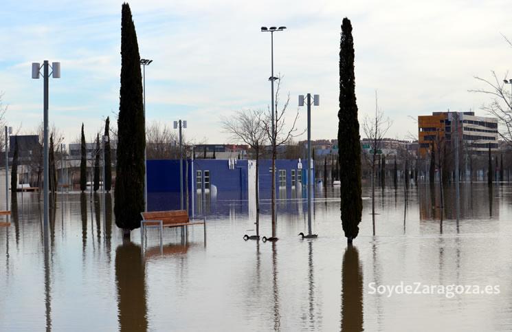 entrada-norte-expo-2008-inundada