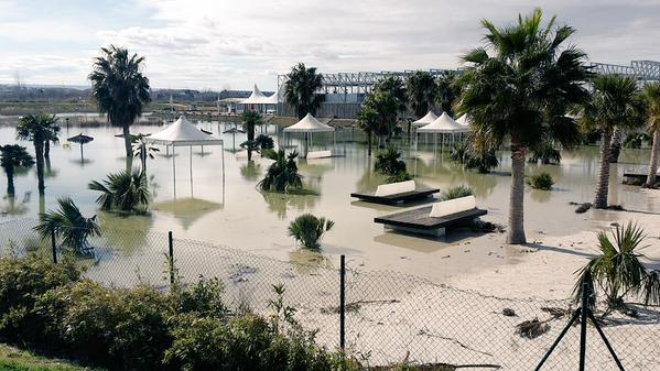 las_playas_inundadas