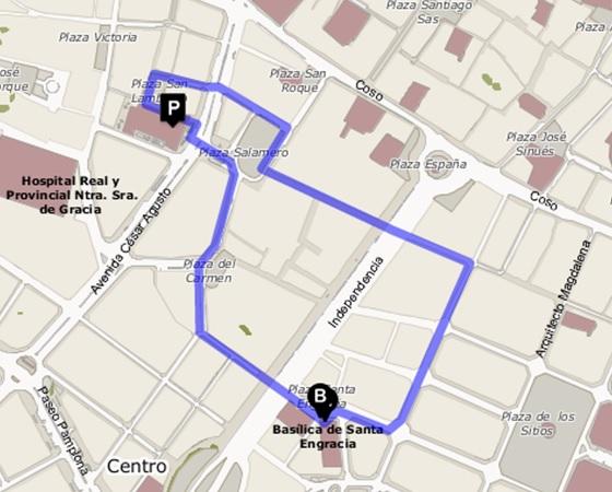 recorrido-procesion-cofradia-lunes-santo-jesus-camino-calvario