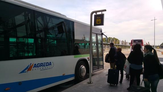 Bus del Aeropuerto en la terminal zaragozana horarios