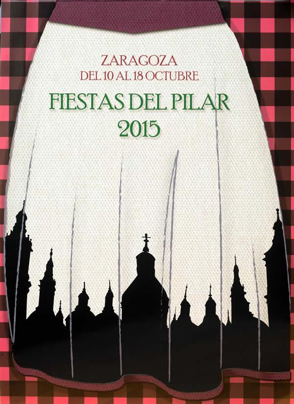 Cartel 'Fiestas del Pilar 2016