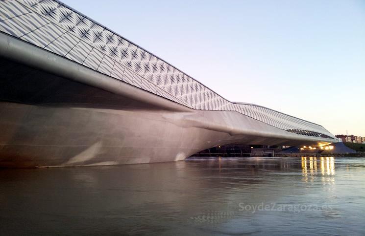 El pabell n puente abre como pasarela peatonal de mayo a - Construccion zaragoza ...