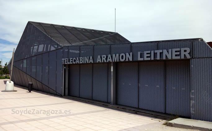 El edificio junto a la estación de Delicias será desmontado.