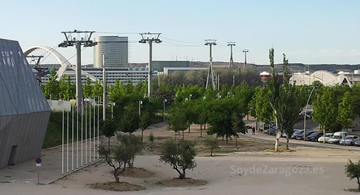Armón se lleva la telecabina de la Expo de Zaragoza