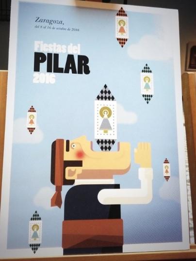 Cartel de las Fiestas del Pilar 2016