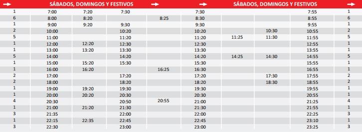 horarios-sabados-festivos-bus-utebo