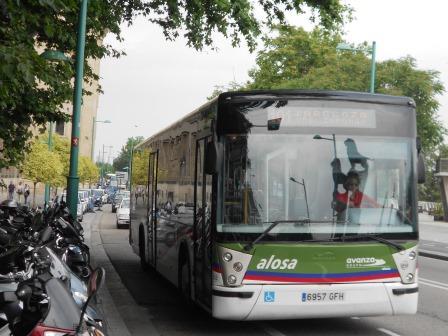 recorrido-del-bus-zaragoza-urbanización-el-zorongo