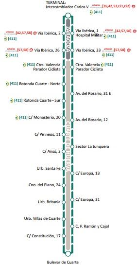 Best Cuarte De Huerva Autobuses Ideas - Casas: Ideas, imágenes y ...