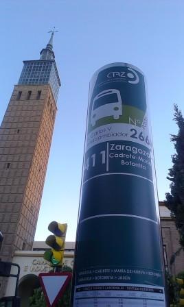 paradas-bus-411-zaragoza-maria-cadrete