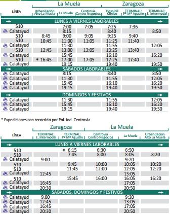 zaragoza-la-muela-autobus-horarios