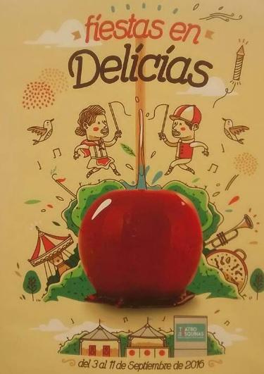 Cartel de las Fiestas de Las Delicias