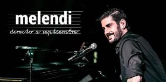 La gira de Melendi 'Directo a Septiembre' llega el viernes 8 de septiembre a Zaragoza.