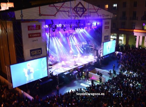 Conciertos gratuitos en las Fiestas del Pilar 2016