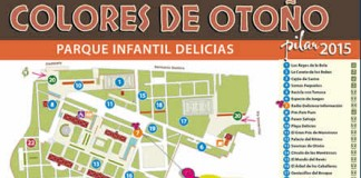 Actividades para niños en el parque Delicias Colores de Otoño en las Fiestas del Pilar 2015 de Zaragoza