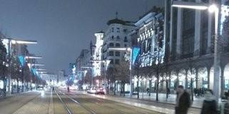 Iluminación calles de Zaragoza