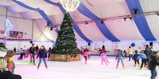 Pista de hielo para patinar en la Plaza del Pilar de Zaragoza en Navidad horarios y precio