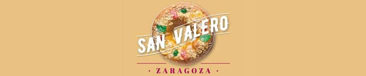 Progración de actividades de la festividad de San Valero en Zaragoza