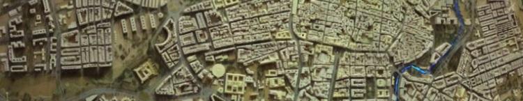 Altitud de los barrios de Zaragoza.