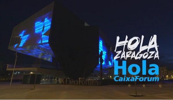 caixaforum-zaragoza-de-noche-iluminado