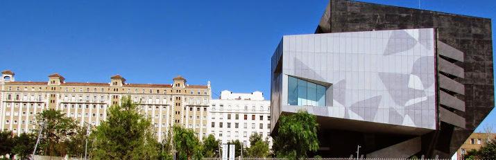 CaixaForum Zaragoza en la Avenida Anselmo Clavé