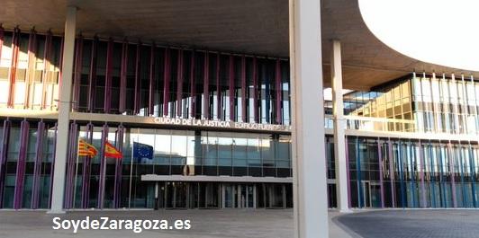 Edificio de Fueros de Aragón en la Ciudad de la Justicia de Zaragoza