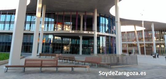 Edificio Vidal de Canelles Ciudad Justicia de Zaragoza