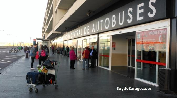 Entrada a la Estación de AutobusesEntrada a la Estación de Autobuses