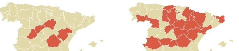 Casi 200 oficinas bancarias cierran en zaragoza desde el 2008 for Mapa santander sucursales